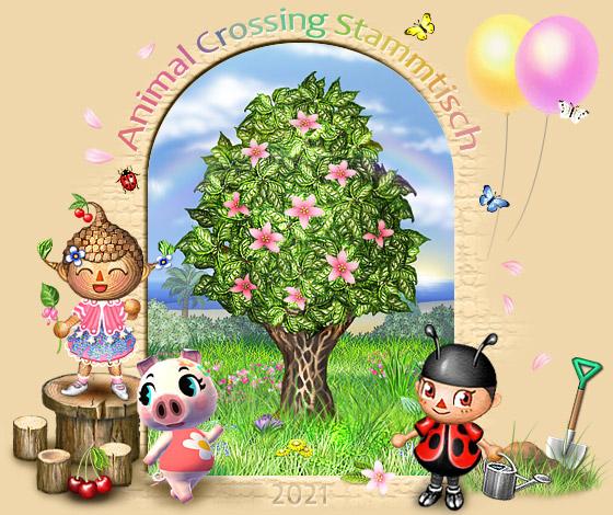 Animal Crossing Stammtisch - Portal Portalbaum_fruehling2021
