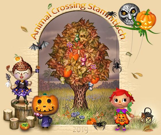 Animal Crossing Stammtisch - Portal Portalbaum_halloween