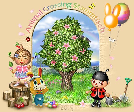 Animal Crossing Stammtisch - Portal Portalbaum_ostern2019