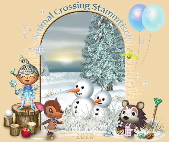 Animal Crossing Stammtisch - Portal Portalbaum_winter2020